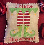 Needle Bling Designs - Blame the Elves