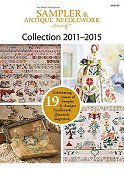Just Cross Stitch DVD Sampler & Antique Needlework  Collection 2011-2015