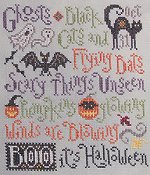 Silver Creek Samplers - Scary Things October Brings THUMBNAIL