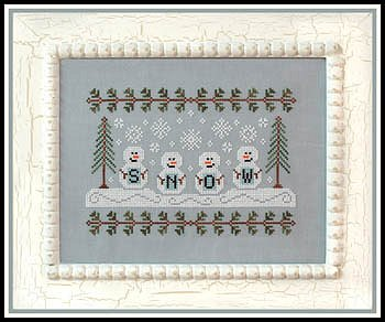 Country Cottage Needleworks - Snowmen MAIN