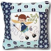 Pine Mountain Designs - Small Pillow Kit - Tooth Fairy Blue