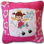 Pine Mountain Designs - Small Pillow Kit - Tooth Fairy Pink