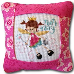 Pine Mountain Designs - Small Pillow Kit - Tooth Fairy Pink MAIN