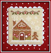 Country Cottage Needleworks - Gingerbread Village #4 - Gingerbread House 2 THUMBNAIL