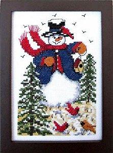 Bobbie G Designs Winter Friends Cross Stitch