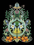 Vickery Collection - Foliated Moorish Motif