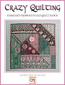 Carolyn Manning Designs - Crazy Quilting February Block