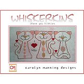 Carolyn Manning Designs - Whiskerkins - I Love You Kitties THUMBNAIL