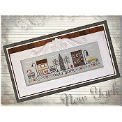 Country Cottage Needleworks - Afternoon In New York THUMBNAIL