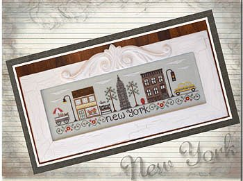 Country Cottage Needleworks - Afternoon In New York MAIN