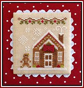 Country Cottage Needleworks - Gingerbread Village #5 - Gingerbread House 3 THUMBNAIL
