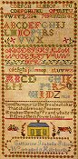 Needle Work Press - Catharine Isabella Suliss:  An 1838 Canadian Sampler THUMBNAIL