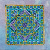 Northern Expressions Needlework - Peacock Mandala THUMBNAIL