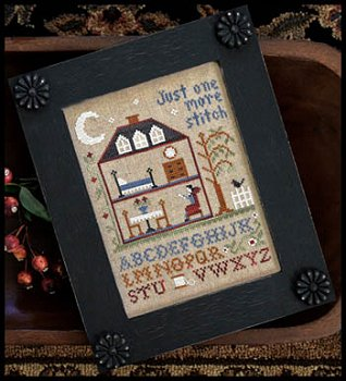 Little House Needleworks - One More Stitch Chart Pack MAIN