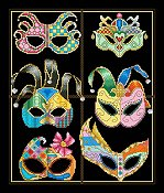 Vickery Collection - Festive Masks THUMBNAIL