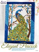 Annie's Cross Stitch - Elegant Peacock_THUMBNAIL