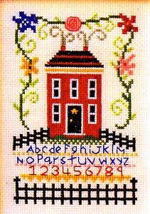 Bobbie G Designs - Sampler In Bloom MAIN