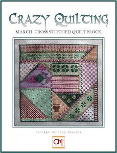 Carolyn Manning Designs - Crazy Quilting March Block MAIN