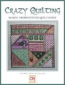 Carolyn Manning Designs - Crazy Quilting March Block