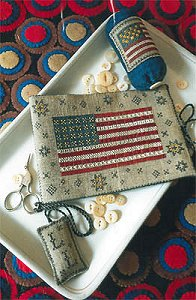 Chessie & Me - Flag Of Glory Needle Book MAIN