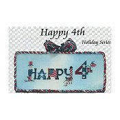 The Stitchworks - Holiday Series - Happy 4th