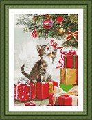 Kustom Krafts - Kitten with Ribbon THUMBNAIL