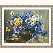 Kustom Crafts - Bouquet of Blue THUMBNAIL