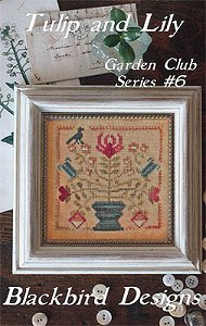Blackbird Designs - Garden Club Series #6 - Tulip and Lily MAIN