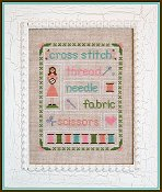 Country Cottage Needleworks - Stitching Time THUMBNAIL