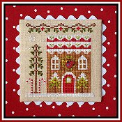 Country Cottage Needleworks - Gingerbread Village #6 - Gingerbread House 4 THUMBNAIL
