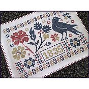 The Scarlett House - Coverlet Candle Mat THUMBNAIL