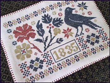 The Scarlett House - Coverlet Candle Mat MAIN