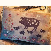 Stacy Nash Primitives - Spotted Pigs Pinkeep