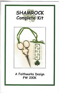 Faithwurks Designs - Shamrock Scissor Fob Kit MAIN