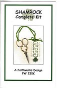Faithwurks Designs - Shamrock Scissor Fob Kit_THUMBNAIL