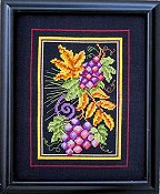 Bobbie G Designs - Fall Grapes