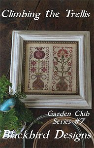 Blackbird Designs - Garden Club Series #7 - Climbing The Trellis MAIN