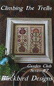 Blackbird Designs - Garden Club Series #7 - Climbing The Trellis THUMBNAIL