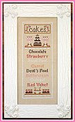 Country Cottage Needleworks - Cake Menu