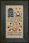 Little House Needleworks - Four Freedoms