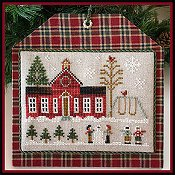 Little House Needleworks - Hometown Holiday Series - #11 Schoolhouse