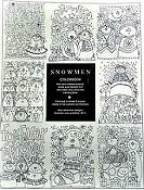 Amy Bruecken Designs - Snowman Colorbook