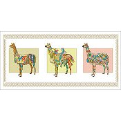 Vickery Collection - Llama Parade