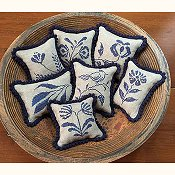 Priscilla's Pocket - Stoneware Pinpillows III