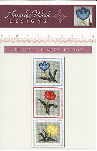 Annalee Waite Designs - Three Flowers MAIN