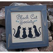 Designs By Lisa - Black Cat Society THUMBNAIL