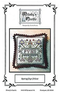 Milady's Needle - Spring Pyn Pillow MAIN