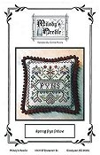 Milady's Needle - Spring Pyn Pillow THUMBNAIL