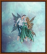 Cross Stitching Art - Dancing In The Stars THUMBNAIL