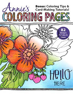 Annie's - Annie's Coloring Pages Hello There MAIN